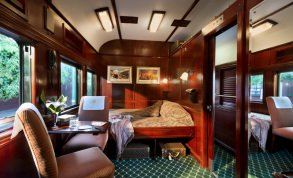 Rovos Rail Deluxe Suite