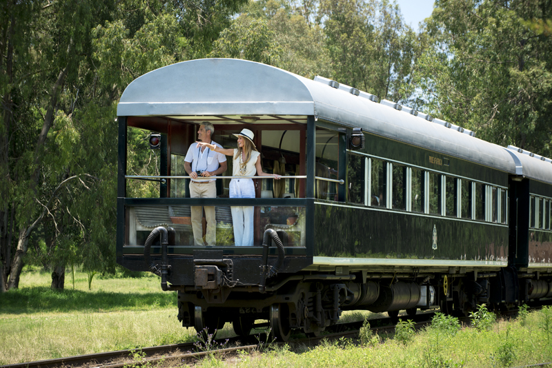 Rovos Rail Observation Car